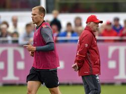 Holger Badstuber startet unter Carlo Ancelotti den nächsten Comeback-Versuch nach Verletzung