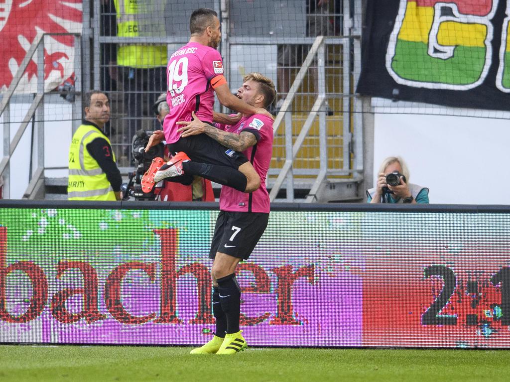 Die Hertha macht in dieser Saison wieder Spaß