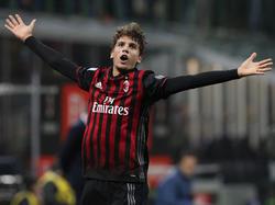 Mit 18 Jahren schon der Fanliebling: Milans Manuel Locatelli