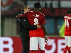 Marcel Koller ist sich sicher, David Alaba wird wieder erstarken