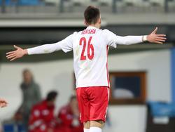 Mergim Berisha war mit fünf Treffern der Mann des Spiels