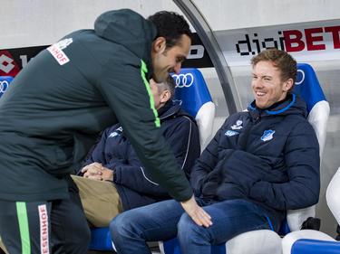 Alexander Nouri und Julian Nagelsmann gehören zu den jüngsten Trainern der Bundesliga