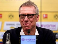 Peter Stöger steht vor seinem ersten Spiel als Mainz-Trainer