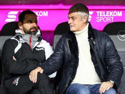 Armin Veh (r.) ist neuer Sportchef des 1. FC Köln