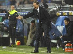 Massimiliano Allegri will seine Verletzten noch nicht abschreiben