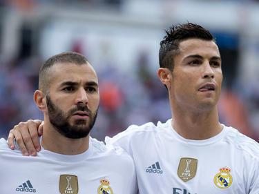 Pausieren: Karim Benzema (l.) und Cristiano Ronaldo