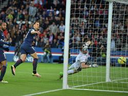 Mit Treffer Nummer 38 beendet Zlatan Ibrahimović seine Rekordsaison für Paris