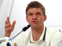 Thomas Müller blickt optimistisch nach vorne