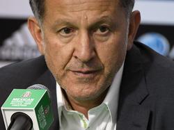Osorio en la rueda de prensa posterior al partido. (Foto: Getty)