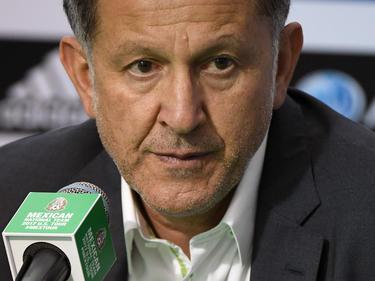 Juan Carlos Osorio en una rueda de prensa de este año. (Foto: Getty)