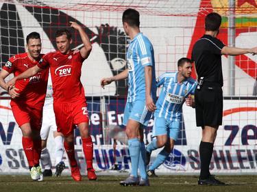 Der FSV Zwickau schlug den Chemnitzer FC mit 1:0