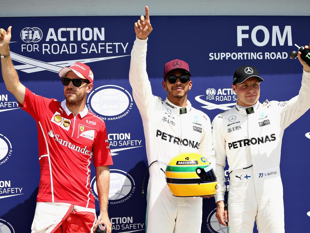 Vettel und Bottas haben das Nachsehen