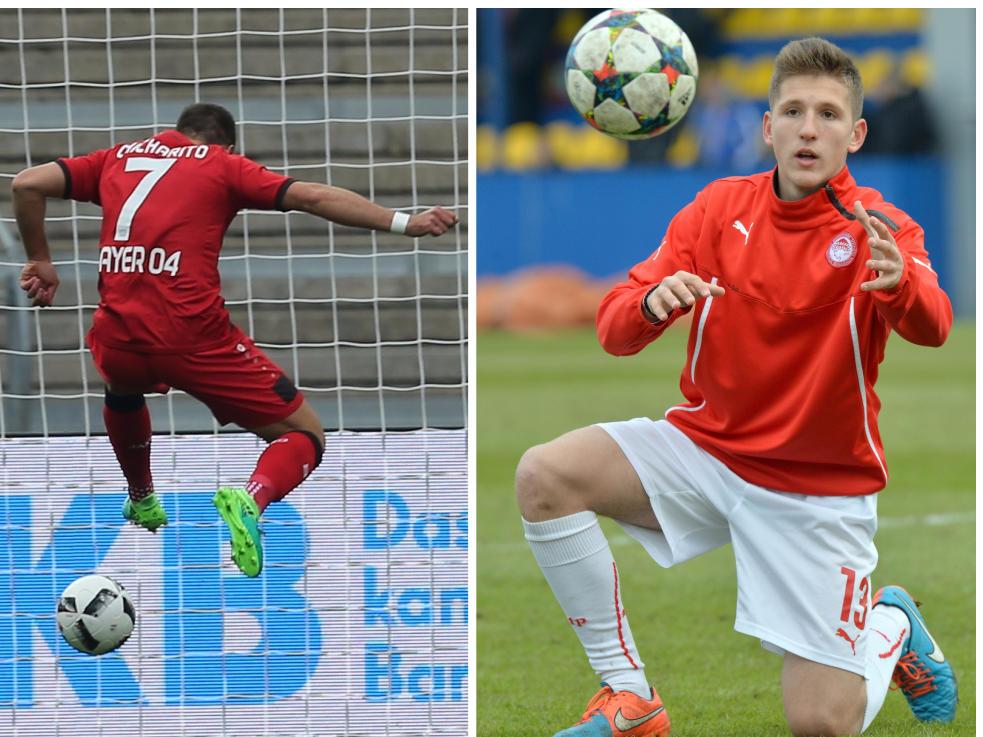 Bayer Leverkusen: Top-Abgang: Javier Hernández; Top-Zugang: Panagiotis Retsos