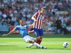 Hernán Pellerano (l.) steht gegen Celta nicht zur Verfügung