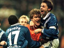 Lehmann feierte sein Tor gegen den BVB