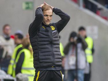 Zum Haare raufen: Thomas Tuchel war mit der Leistung seiner Mannschaft nicht zufrieden
