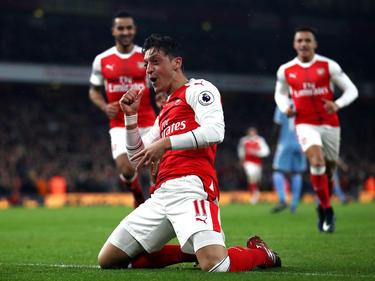 Kann Arsenals Özil auch gegen Guardiola jubeln?