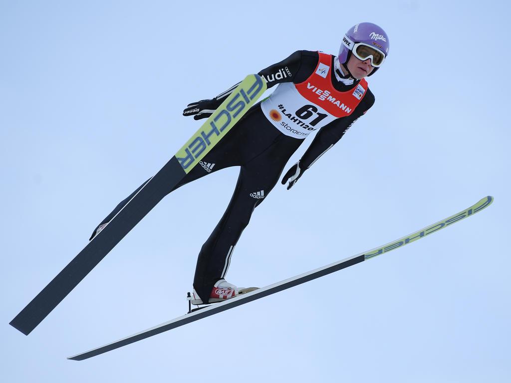 Andreas Wellinger flog in Finnland sensationell aufs Podest
