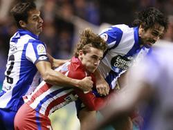 Antione Griezmann und Atlético stolperten gegen La Coruña