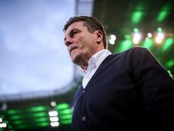 Dieter Hecking ist seit dem Winter Trainer bei Borussia Mönchengladbach
