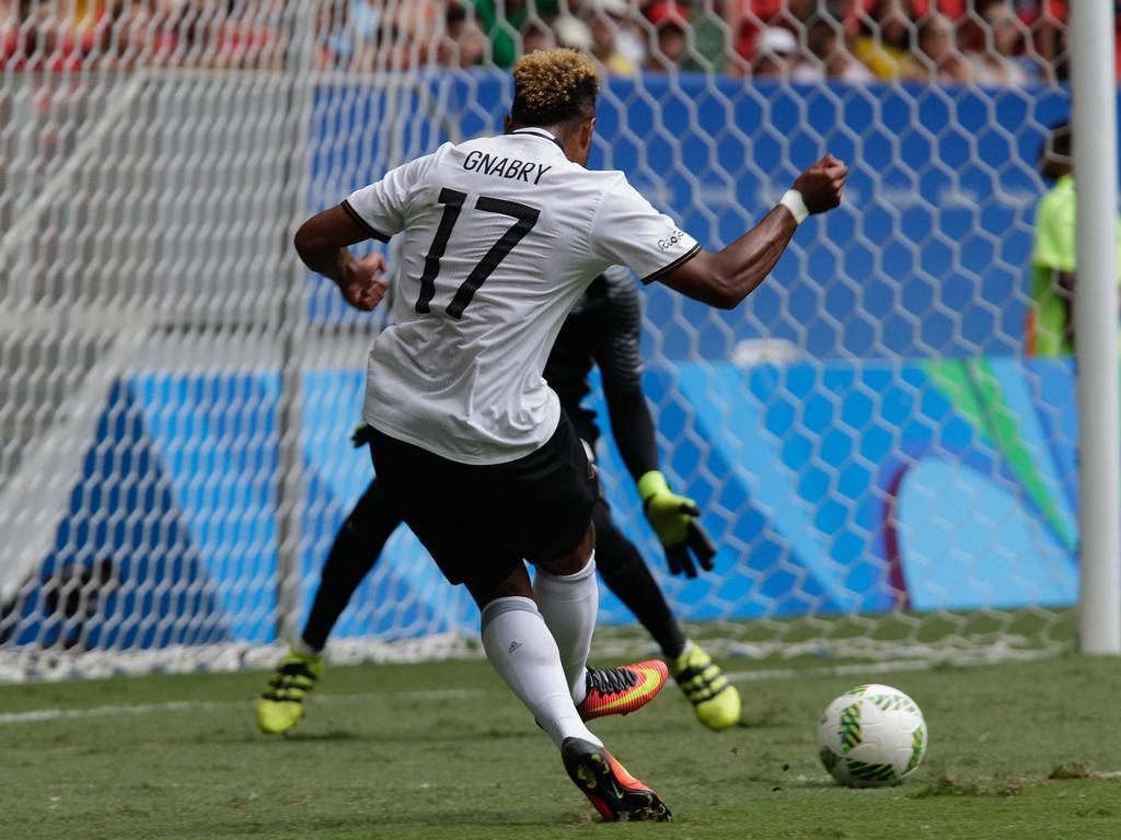 Serge Gnabry prägt in Rio das deutsche Offensivspiel