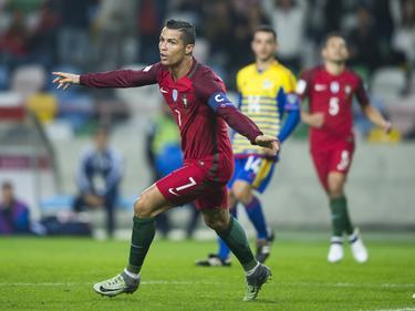 Cristiano Ronaldo erzielte vier Tore