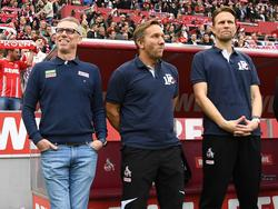 FC-Coach Stöger und seine Mannen dürfen endlich zuhause ran
