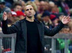 Konsterniert: André Schubert hadert mit der Leistung seines Teams
