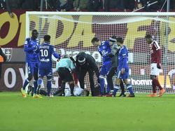 Die Partie zwischen Lyon und Metz wurde abgebrochen