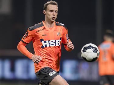 Henny Schilder tijdens de topwedstrijd in de Jupiler League tussen FC Volendam - VVV-Venlo. (17-02-2017)