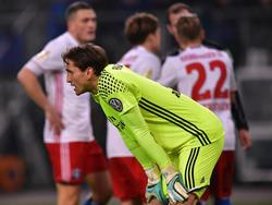 HSV-Keeper René Adler blickt in eine ungewisse Zukunft