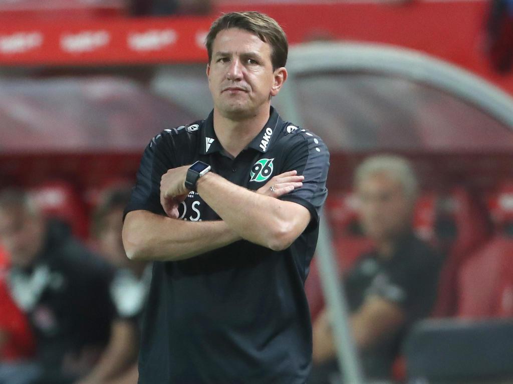 Platz vier - Hannover 96 entlässt seinen Trainer