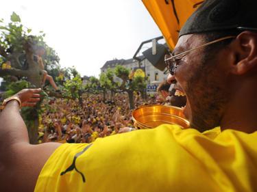 Die Dortmunder Meisterfeier verlief größtenteils friedlich