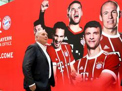 Uli Hoeneß und der FC Bayern München sind in China unterwegs