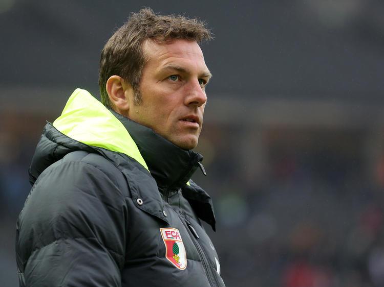 Weinzierl könnte Augsburg zum Saisonende verlassen