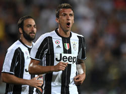 Mario Mandžukić steht bei Juve angeblich vor dem Absprung