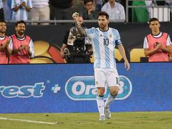 Lionel Messi steht beim Klassiker gegen Brasilien im Fokus