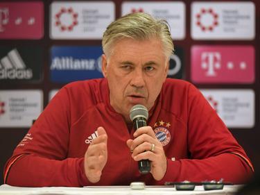Warnt vor einem erstarkten Hamburger SV: Bayern-Trainer Carlo Ancelotti