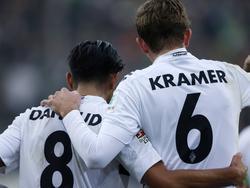 Das Gladbach-Duo Dahoud und Kramer (r.) soll bei Milan auf dem Wunschzettel stehen
