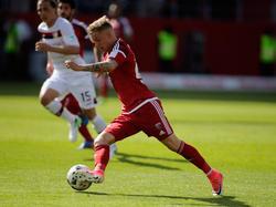 Sonny Kittel hat seinen Vertrag beim FCI verlängert