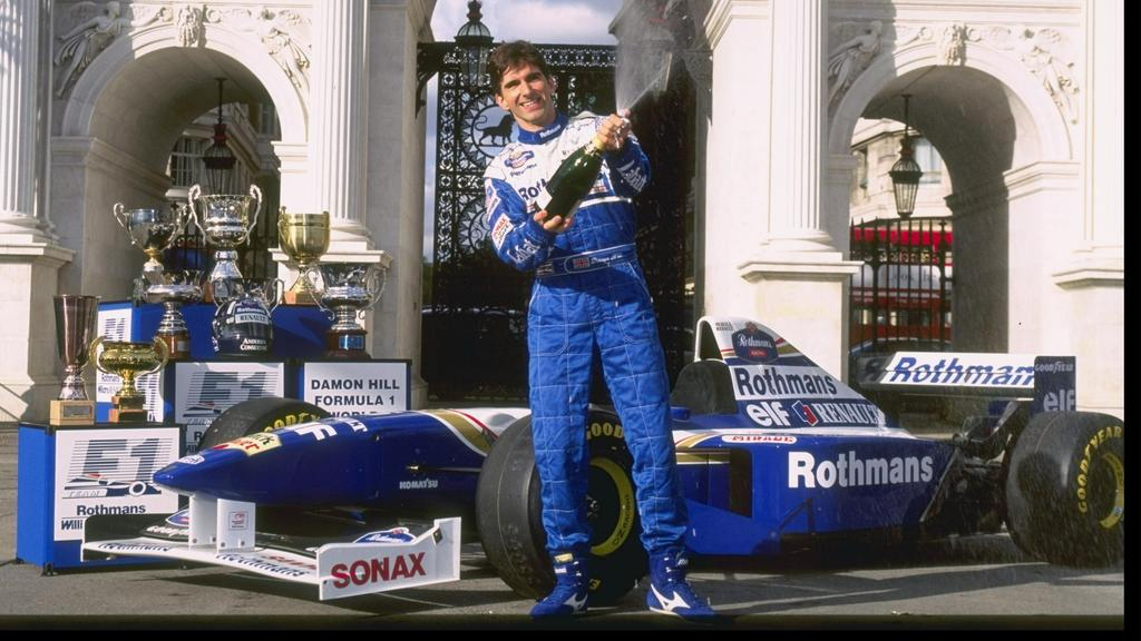 19. Platz: Damon Hill