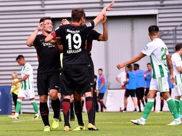 Ganz starker Auftritt der Frankfurter Eintracht