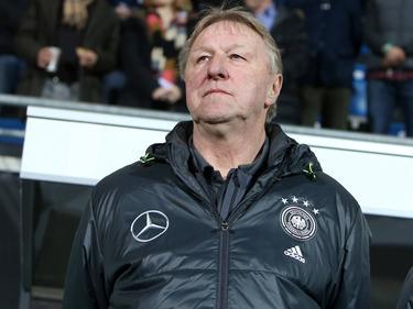 Horst Hrubesch coacht das deutsche Team in Rio