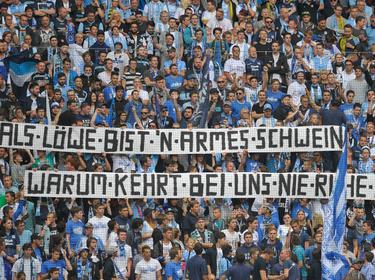 Die Fans von 1860 München sehnen sich nach Ruhe