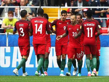 Portugal freute sich über den zweiten Treffer
