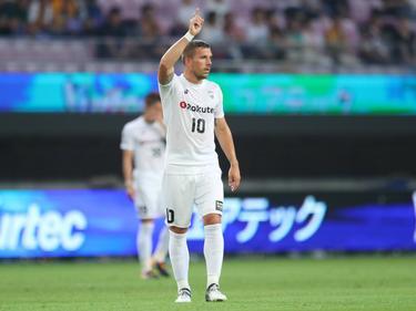 Lukas Podolski wurde eingewechselt