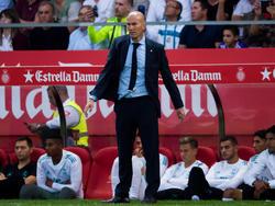 Zinédine Zidane ist bei Real Madrid nicht mehr unumstritten