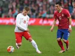 Jakub Blaszczykowski schoss Polen zum Sieg gegen Serbien