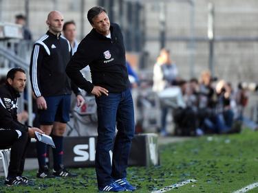 Falko Götz unterliegt bei seinem Debüt als Cheftrainer des FSV Frankfurt