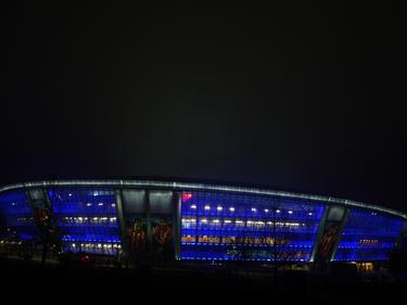 Imagen del estadio Donbass Arena de Donetsk en 2013. (Foto: Getty)